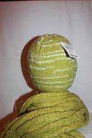 Шарф женский  вязка, зимний, нить букле