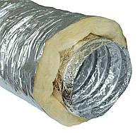 Изолированный гибкий воздуховод Д102мм, фото 1
