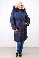 Женская стильная зимняя куртка-пальто больших размеров (2 цвета)