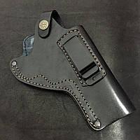 """Кобура поясная для револьвера 4"""" кож."""