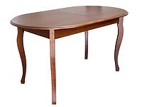 Стол обеденный раскладной Эльза из массива Бук
