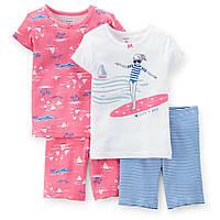 Набор из двух пижам для девочки (футболка+брюки)