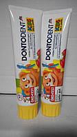Зубная паста Dontodent для детей до 6 лет