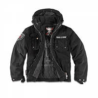 Куртка с капюшоном Dobermans Aggressive Nord Storm v1 Black, фото 1
