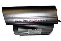 Цветная камера видеонаблюдения CCTV 658 с ИК подсветкой