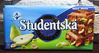Шоколад Studentska Pacet молочный с грушей 180гр