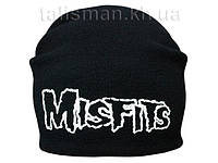 MISFITS-1 - шапка-бини - вязанная с накаткой
