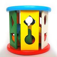 Развивающая игрушка деревянный Сортер