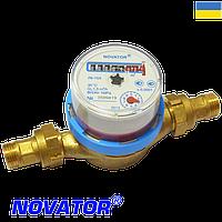 "Счетчик холодной воды Novator (Новатор) ЛК-15 Х 1/2"""