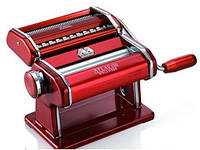 Машинка для раскатки теста + лапшерезка Marcato Atlas 150 Rosso