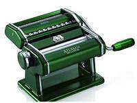 Машинка для раскатки теста + лапшерезка Marcato Atlas 150 Verde