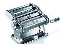 Машинка для раскатки теста + лапшерезка Marcato Atlas 150 Argento