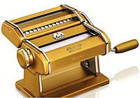 Машинка для раскатки теста + лапшерезка Marcato Atlas 150 Oro