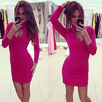 Женское красивое модное платье