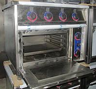 Плита профессиональная электрическая КИЙ-В ПЕД-4 с духовкой , фото 1
