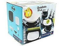Столовый сервиз Luminarc Quadrato19+6 предметов