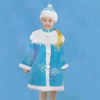 Детский карнавальный костюм Снегурочка L-60см