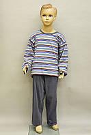 Подростковая пижама для мальчика (кофта и штаны) Sesto Sens