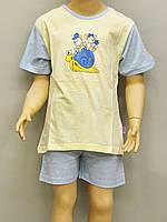 Детская пижама для девочки (футболка и шорты) Natural Club