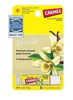 Бальзам для губ Carmex Ваниль Vanilla lip balm