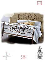 Кованые изголовья кроватей