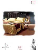 Кованый диван кровать