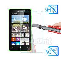 Защитное стекло для экрана Microsoft (Nokia) Lumia 532 твердость 9H, 2.5D (tempered glass)