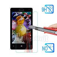 Защитное стекло для экрана Microsoft (Nokia) Lumia 435 твердость 9H, 2.5D (tempered glass)