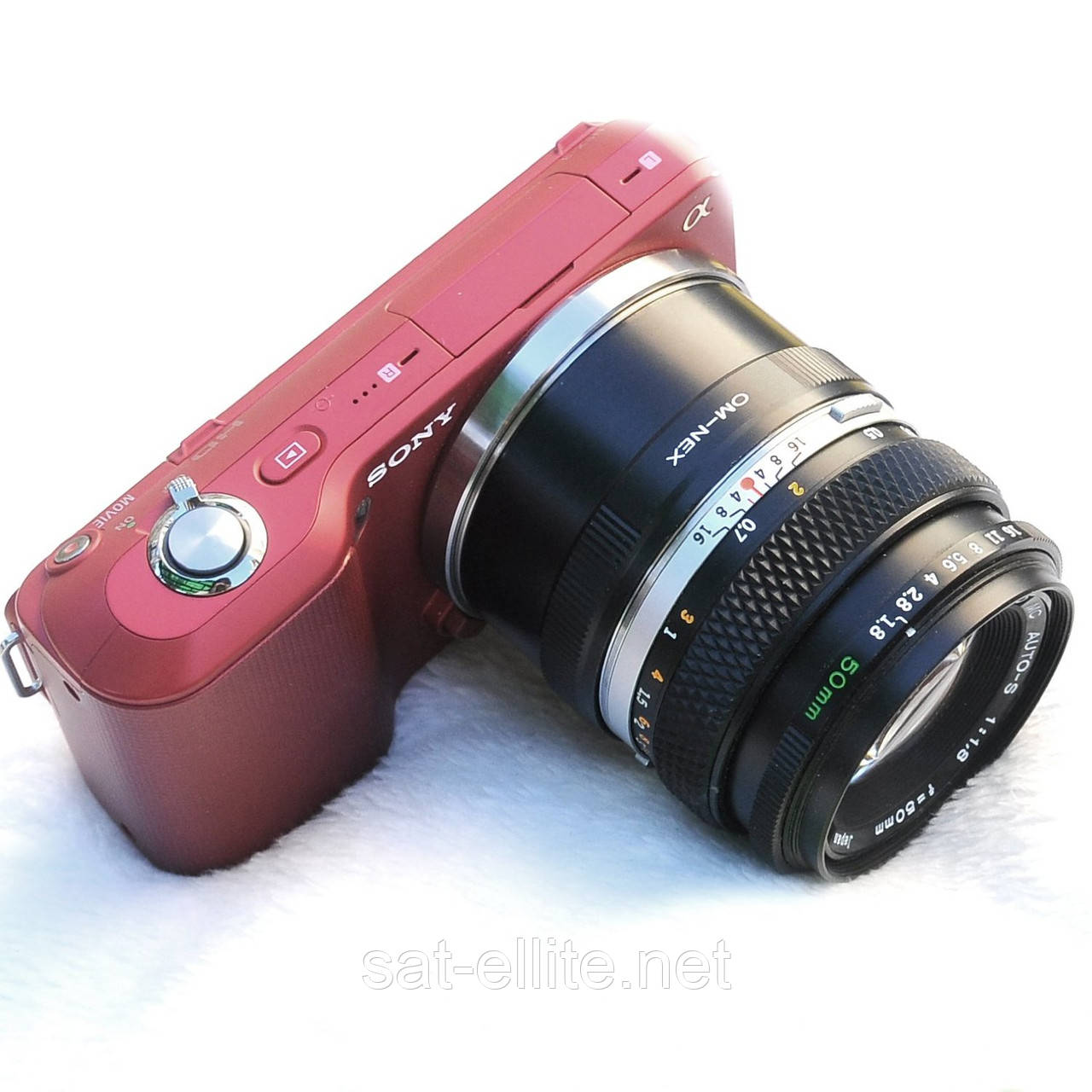 Адаптер переходник Olympus OM - Sony NEX E, кольцо
