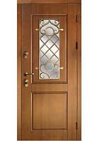 Дверь входная с ковкой №15 модель 136