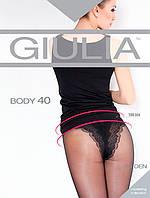 Корректирующие классические колготки с ажурными трусиками TM Giulia