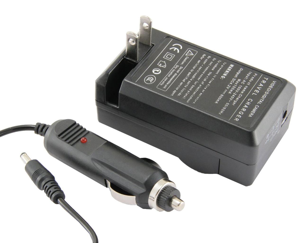 Сетевое + авто зарядное Olympus LI-50B LI50B