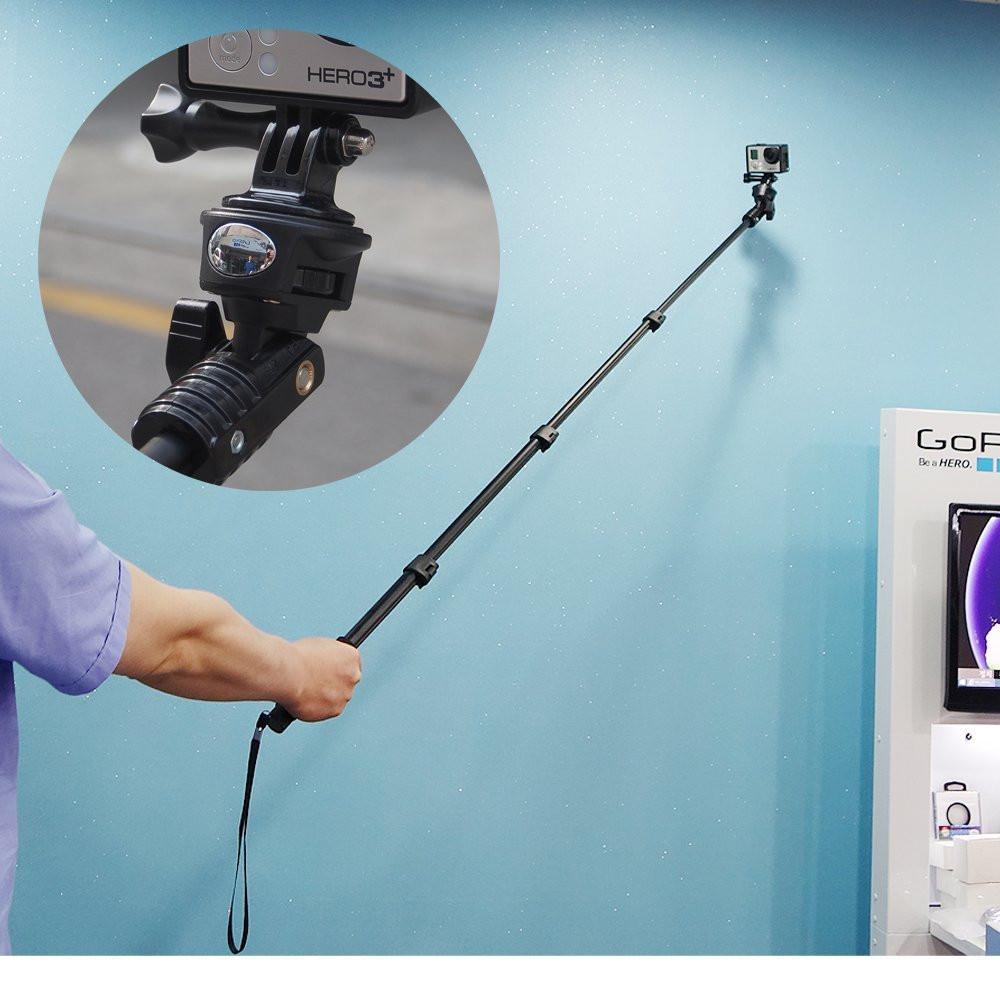 Регулируемый ручной монопод для GoPro, смартфонов