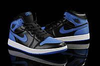 Кроссовки баскетбольные мужские Air Jordan Retro Black Blue. баскетбольные кроссовки купить