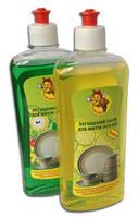 """""""Пчелка"""" лимон, моющее средство для посуды, концентрированное 0,5кг"""