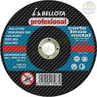 Диск отрезной 230х1.9 мм по металлу (выгнутая ступица) Bellota, артикул 50320-230