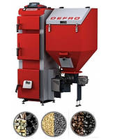 Твердотопливные котлы отопления DEFRO Котел твердотопливный DEFRO Duo Uni 50 кВт с вентилятором