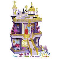 Трёхэтажный замок Кантерлот с пони селестия и 40 предметов My Little Pony Cutie Mark Magic Canterlot Castle