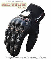 Перчатки мото, вело, зимние  PRO-BIKER (black) L / XL