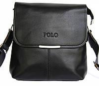 Красивая, стильная мужская сумка ПОЛО. Удобные, повседневные сумки. Сумка через плечо. Магазин сумок КС4