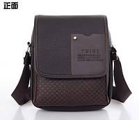 Небольшая Мужская сумка TWINS Мужские сумки. Сумки на подарок, парню, мужчине.Сумка через плечо КС27