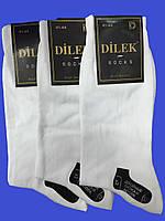 Носки мужские без шва хлопок Dilek 41-44  белые