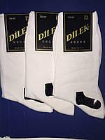 Носки мужские без шва хлопок Dilek 39-41 белые