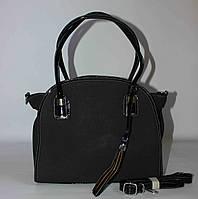 Женская сумка с кисточкой SilviaRosa, черная
