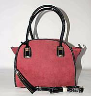 Женская сумка с кисточкой SilviaRosa, красная