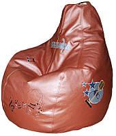Бескаркасное кресло груша пуф мешок мягкая мебель для детей