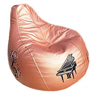 Бескаркасное кресло мешок груша пуф мебель для детей