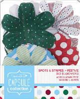 Набор цветов из бумаги Spots & Stripes Festive