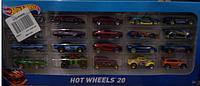 Набор машинок Хот Вилс 20 шт в ассорт (Hot Wheels 20-Car Gift Pack )