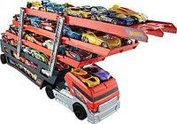 Машина Автовоз на 50 машинок Хот вилс Hot Wheels Mega Hauler Оригинал Америка